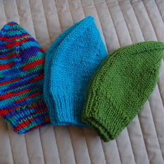 *Special * 3 beanies: Size 1-3yrs; Unisex, washable