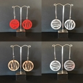 """Water"" earings (1 pair)"