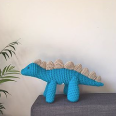 Drew the crocheted Dinosaur