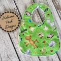 """Farm Animals"" on Green
