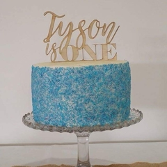 Custom Cake Toppers and signs