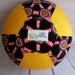Balloon Ball: Dreamtime with Yellow tonal print