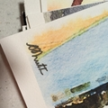 Watercolour Print - Lifeguards