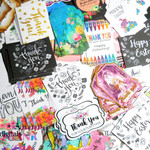 Bulk Gift Tags - Bulk Business Tags - Bulk Tags - Mixed Tags - 50 Bulk Tags