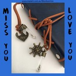 MISS YOU - LOVE YOU - journal - diary - notebook