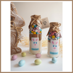 "SMALL EASTER ""Bunny"" Cookie Mix in a bottle. Makes 6 delicious cookies"