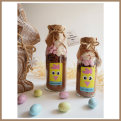 "SMALL EASTER ""Friend"" Hot Chocolate Drink Mix in a bottle. Makes 2 decadent mugs"