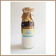 LARGE EASTER Hot Cross Cookie Mix in a bottle. Makes 12 delicious cookies