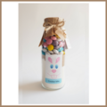"""LARGE EASTER """"Bunny"""" Cookie Mix in a bottle. Makes 12 delicious cookies"""