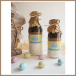 SMALL EASTER Hot Cross Cookie Mix in a bottle. Makes 6 delicious cookies