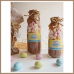 SMALL EASTER Spiced Hot Chocolate Drink Mix in a bottle. Makes 2 decadent mugs