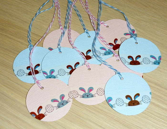 Easter gift tags set 10 cute easter bunnies vicki g madeit easter gift tags set 10 cute easter bunnies negle Image collections