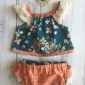 Baby Girl Two Piece Set - Fleet & Flourish, Sizes 000,00,0,1,2