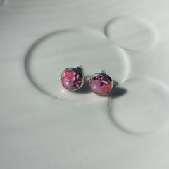 Free Postage! Floral Resin Earrings