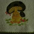 Babies Embroidered Towelling Bibs-Ducks-1-4