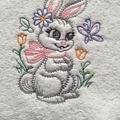 Babies Embroidered Towelling Bibs- Vintage Woodland 1
