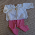 *Grow Set Special * 4 beanies (New born to 3 yrs +): Girl, washable