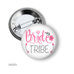 Bride Tribe hens party badge