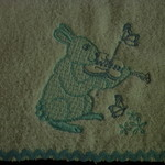 Babies Embroidered Towelling Bibs- QC--2
