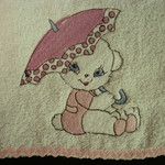 Babies Embroidered Towelling Bibs- Miscellaneous 3