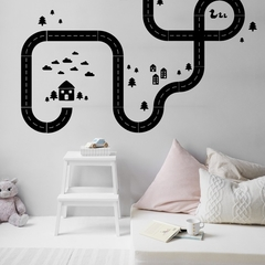 Road Scene Wall Decal