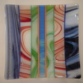 Plate - stripes