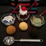 Crochet Ice-cream Sundae Set