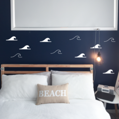 Waves Wall Decals
