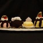 Crochet desert set