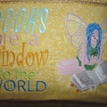 """Fairy Reading"" Reading/Pocket Cushion (cover only)"