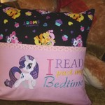 """Little Pony"" Reading Cushion (cover only)"