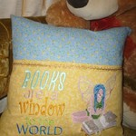 """Fairy Reading"" Reading Cushion  (cover only)"