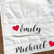 Personalised NAMES Couples Pillow Cases