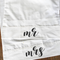 Personalised MR MRS Couples Pillow Cases