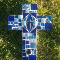 Mosaic Cross - Blues