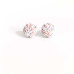 Fabric & Lace Earrings