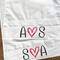 Personalised LOVE LOVE INITALS Couples Pillow Cases
