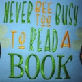 """Busy Bee"" Reading/Pocket Cushion (cover only)"