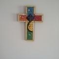Mosaic Cross - Mixed Colours