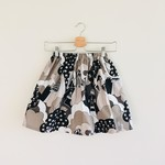 Size 3 - Twig Pocket Skirt - Monochrome