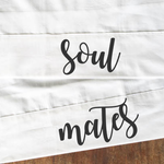 Personalised SOUL MATES Couples Pillow Cases