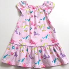 "Size 5 - ""Over the Rainbow"" Unicorn Party Dress"