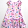 "Sizes 4  ""Over the Rainbow"" Unicorn Party Dress"