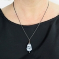 Night Owl pendant chain necklace