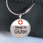 Medical Alert, Medic Alert Tag - Allergic to Gluten