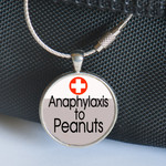 Medical Alert Tag, Medic Alert - Anaphylaxis to Peanuts