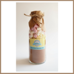LARGE EASTER Spiced Hot Chocolate Drink Mix in a bottle. Makes 4 decadent mugs