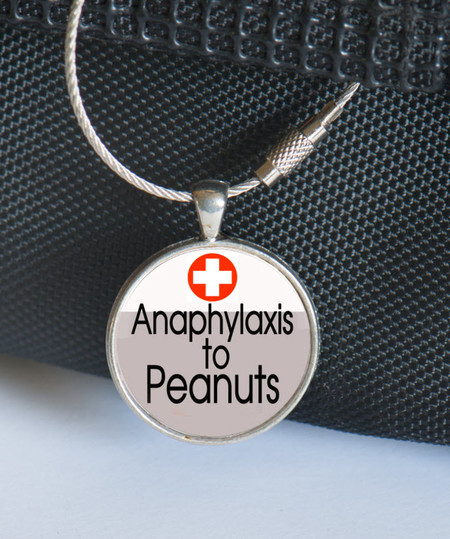 Medical Alert Tag, Medic Alert - Anaphylaxis to Peanuts