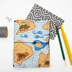 B6 Treasure Map Design NicDori Traveller's Notebook