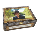 'In Memory Of' Memorial Wooden Keepsake Treasure Trinket Box